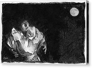 Moon Shadow Canvas Print by George Rossidis