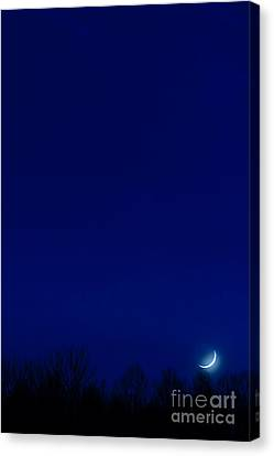 Moon Sliver Canvas Print