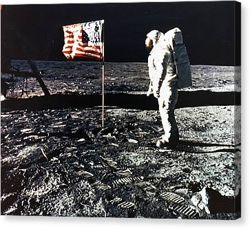 Moon Walk Canvas Print by Retro Images Archive