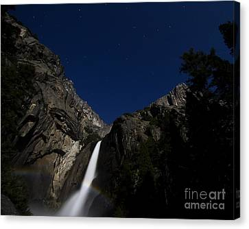Moonbow And The Big Dipper Canvas Print