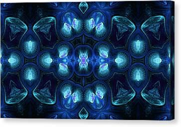 Design Canvas Print - Moondance by Georgiana Romanovna