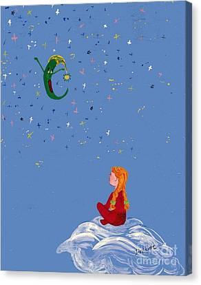 Moondreams Canvas Print by Desline Vitto