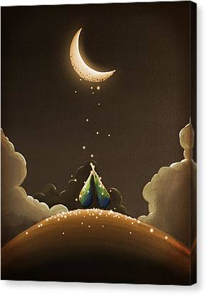 Moondust Canvas Print by Cindy Thornton
