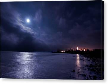 Moonlight Bay Canvas Print
