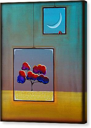 Moonlight Canvas Print by Cindy Thornton