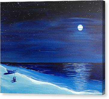 Moonlight Company Canvas Print