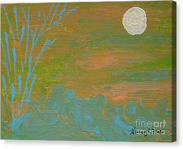 Moonlight In The Wild Canvas Print