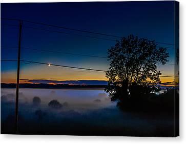 Moonlight Mist Canvas Print by Randy Scherkenbach