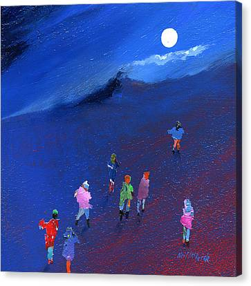 Moonlight Ramble Canvas Print by Neil McBride