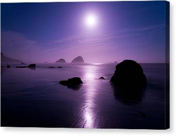 Moonlight Reflection Canvas Print by Chad Dutson