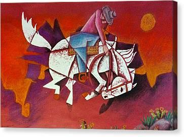 Moonlight Ride Canvas Print