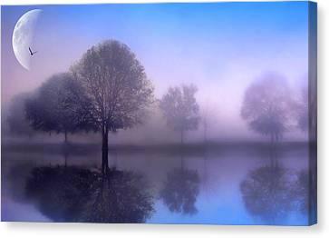 Moonlight Sonata Canvas Print by Jessica Jenney