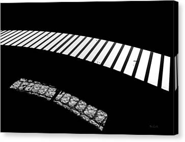 Moonlight Under The Highway Canvas Print by Bob Orsillo