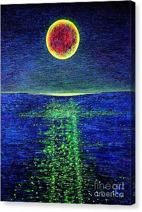 Moonlight Canvas Print by Viktor Lazarev