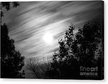 Moonlit Clouds Canvas Print