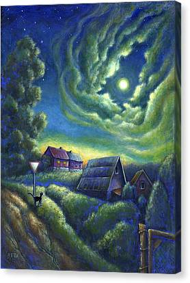 Moonlit Dreams Come True Canvas Print