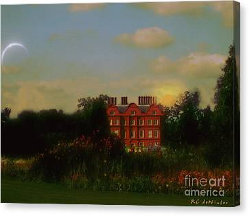 Moonrise - Sunset Canvas Print by RC DeWinter
