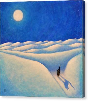 Moonshadow II Canvas Print by Heidi Shaulis