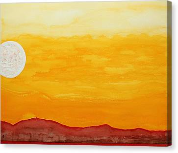 Moonshine Original Painting Sold Canvas Print