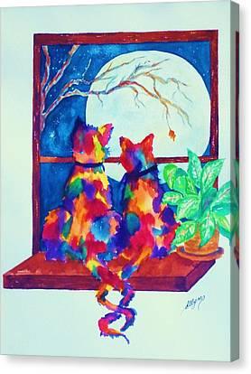 Moonstruck Ll Canvas Print