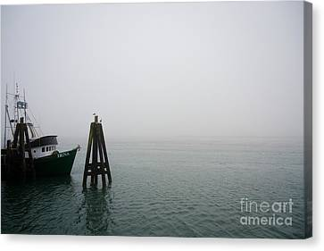 Sonoma Coast Canvas Print - Moored by CML Brown