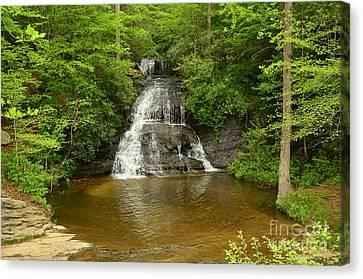 Moores Creek Falls Canvas Print