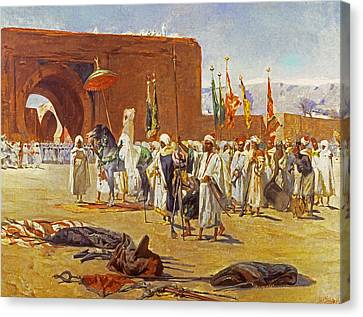 Moorish Procession Canvas Print