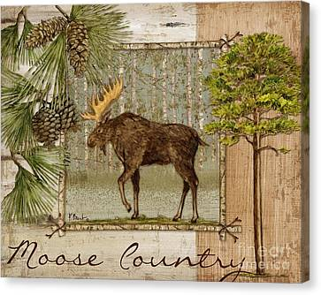 Moose Canvas Print - Moose Country by Paul Brent