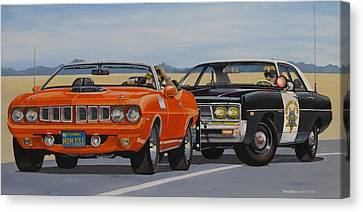 Mopar Authority Canvas Print