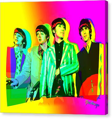 Moptops Pop '68 Beatles Canvas Print