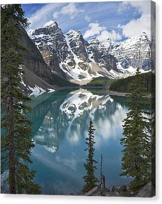 Moraine Lake Overlook Canvas Print