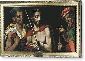 Toothless Canvas Print - Morales, Lu�s De 1515-1586. Christ by Everett