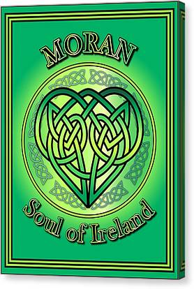 Moran Soul Of Ireland Canvas Print by Ireland Calling