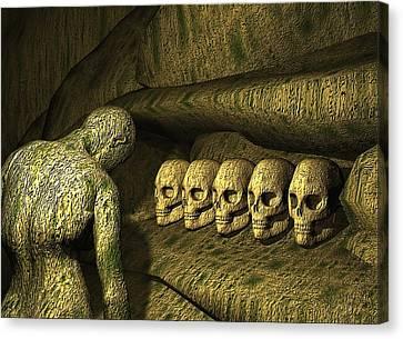 Morbid Vespers Canvas Print by John Alexander