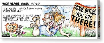 More Before There Fpi Cartoon Canvas Print
