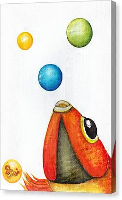 More Bubbles Canvas Print by Oiyee At Oystudio