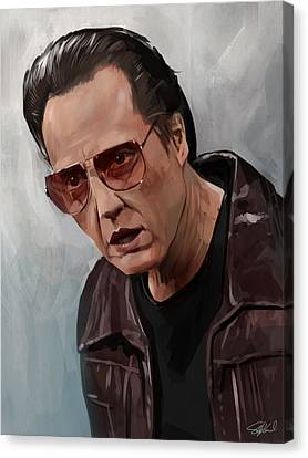 More Cowbell Canvas Print by Steve Goad