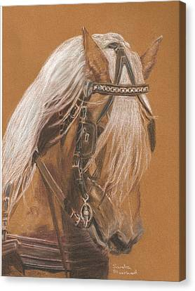 More From Fer A Cheval Canvas Print
