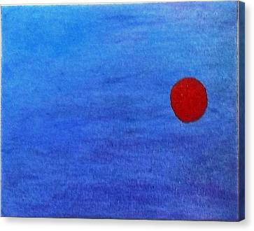 More Like A Dot Canvas Print by Jennifer Fliegel