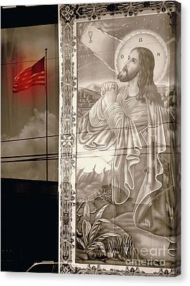 More Prayers For The Nation Canvas Print by Joe Jake Pratt