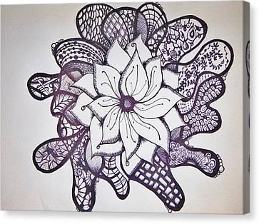 More Than A Flower Canvas Print by Lori Thompson