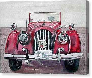 Morgan Canvas Print by Anna Ruzsan