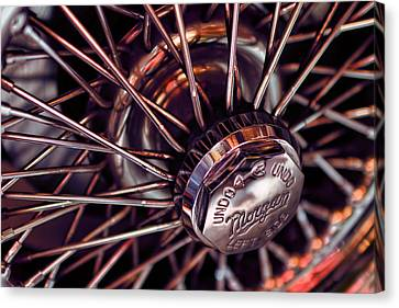 Morgan Wire Wheel Canvas Print