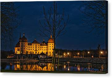 Canvas Print featuring the photograph Moritzburg Castle by Robert Culver
