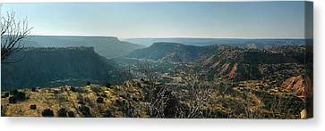 Canvas Print featuring the photograph Morning At Palo Duro by Rod Seel