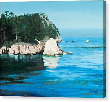 Morning At Point Lobos #2 Canvas Print
