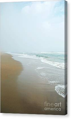 Morning At Sea Canvas Print by Sharon Coty
