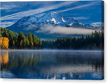 Morning At Siskiyou Lake Canvas Print