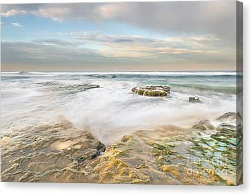 Morning At Tabletop Reef Canvas Print