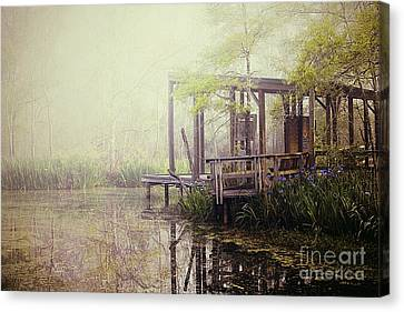 Morning At The Nature Center Canvas Print